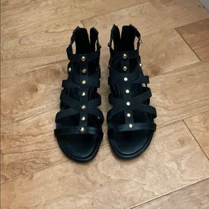 Size 8 Marc Fisher studded sandals